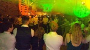 New years's Eve wedding disco